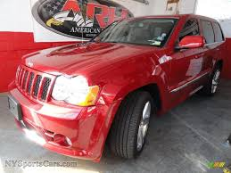 jeep grand cherokee srt red 2009 jeep grand cherokee srt 8 4x4 in blaze red crystal pearl