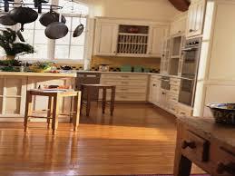 hardwood flooring in the kitchen honey oak kitchen cabinets with