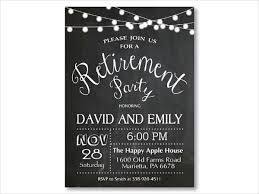 Chalkboard Wedding Program Template Retirement Invitation Retirement Invitation Template Retirement