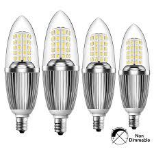 led light bulb 100 watt equivalent infinite power candelabra led bulbs 12w daylight white 6500k led