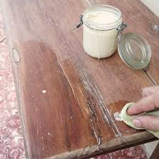 wax for wood table how to make bees wax furniture polish