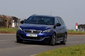 peugeot 308 gti blue peugeot 308 sw gt review auto express