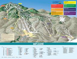 Mountain Map Gore Mountain Skimap Org