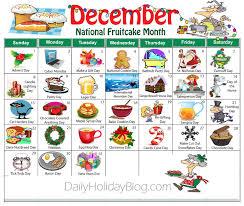december random holidays calendar pinteres