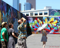downtown la graffiti and mural tour la art tours you ll also see many other hidden art treasures including the rich urban sculpture scene and some local spots of truly curious history