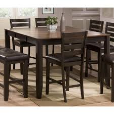 dining room sets with leaf brown counter height dining table elliott rc willey furniture store