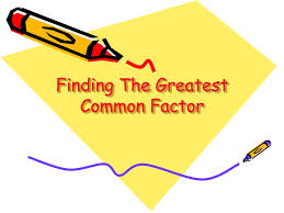 Finding Gcf And Lcm Worksheets Ppt Finding The Greatest Common Factor Powerpoint Presentation