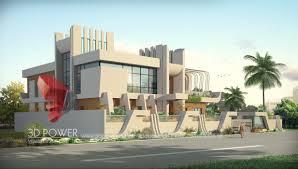 bungalow walkthrough gurgaon 3d power
