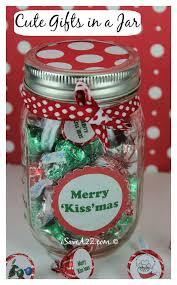 unique handmade christmas gifts u0027kiss u0027mas gift in a jar recipe