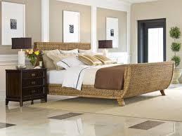 wicker bedroom furniture frame u2014 derektime design dreamy natural
