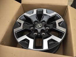 toyota tacoma road wheels selling 2016 trd road wheels brand take offs tacoma