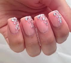 toe nail designs gems nail art with crystals gem white toenail