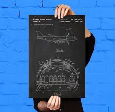 airplane cabin patent airplane cabin poster airplane cabin
