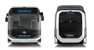 concept bus tokyo your fuel cell city bus has arrived in the toyota sora