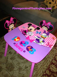 minnie mouse table set minnie mouse table and chairs finnegan and the hughes