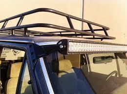 1989 jeep wagoneer lifted xj led light bar bracket kit 84 01 jeep xj omc offroad kens kar kare
