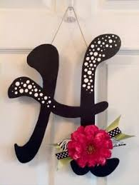 wooden letters for door decorations wall letters monograms