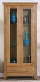glass shelves for china cabinet camberley oak glass display cabinet includes three glass shelves