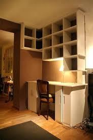 bibliothèque avec bureau intégré bibliothaque bureau sur mesure amazing meuble bibliotheque bureau