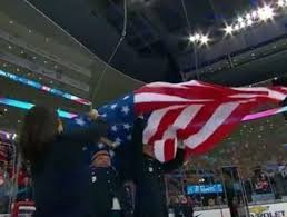 American Flag Watches Watch American Flag Raising Botched After World Junior Win Over