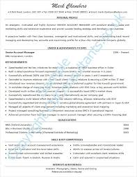 Sample Of One Page Resume by Example A Good Resume Templates