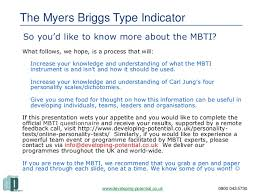myers briggs type indicator mbti u0026 team building