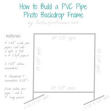 wedding backdrop measurements diy photo backdrop frame for pennies