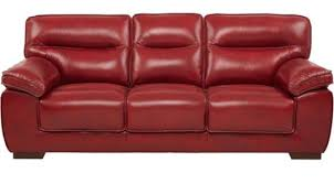 used red leather sofa red leather couch tototujedom com