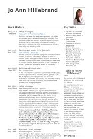 office manager resume samples visualcv resume samples database