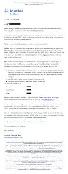 Dispute Letter For Experian experian creditexpert id fraud insurance reclaiming are you owed