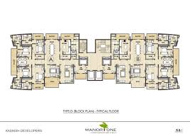 type e unit plan for villas studio apartments home at