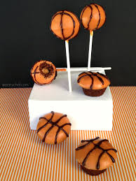 basketball cake pops the weary chef