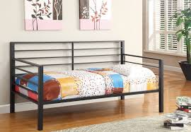 bedroom winsome home u003e 300094 black metal daybed image of in
