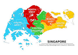 Singapore Map Asia by Singapore Map Southeast Asia