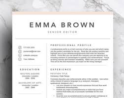 pages resume template 2 creative resume template for word 1 2 page resume cover