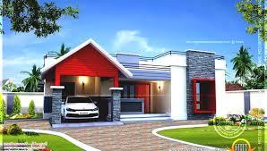 contemporary house plans single story single home designs stupefy modern single storey house designs