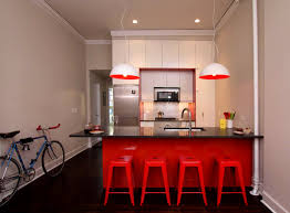 bathroom charming design ideas for red kitchen and grey tiles
