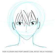 draw anime boys