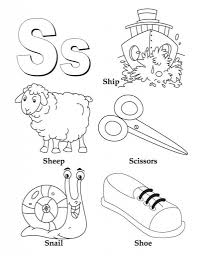 letter s coloring pages to download and print for free in the most