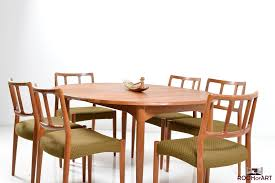danish dining room table oval danish dining table in solid teak room of art