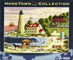 amazon com hometown collection cape cod beach party 1000 piece