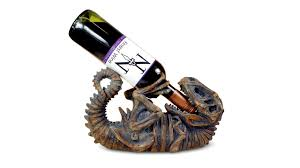 wine bottle emoji t rex guzzler wine bottle holder gwyl io