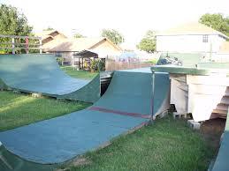 backyard bmx ramps home design inspirations