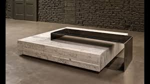 marble coffee table living room furniture design youtube