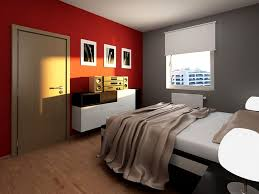 red black and grey bedroom home design ideas
