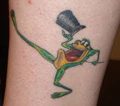 frog tribal tattoo on upper back in 2017 real photo pictures