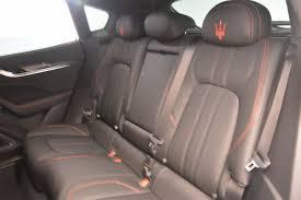 maserati levante back seat 2017 maserati levante s stock m1853 for sale near westport ct