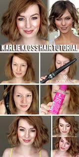 karlie kloss hair u0026 make up tutorial beauty tutorials