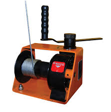 manual hand operated gear drive winches model hwg 600 are