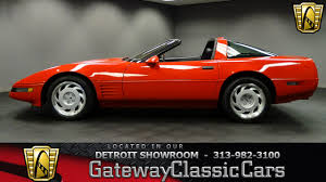 1991 chevrolet corvette zr 1 17637 miles red targa top 5 7l v8 mpi